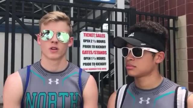 Zieman (LJ) and Pena (TJ) made the finals at the IHSA Class 2A Boys T&F State Meet.