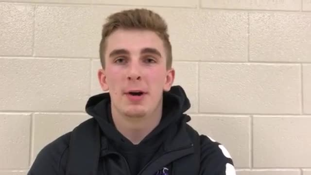Shaw talks about the Whips' 61-55 win over Crystal Lake South.