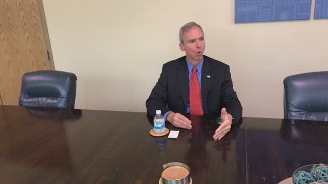 Dan Lipinski talks about the issues facing the 3rd district in the 2018 election