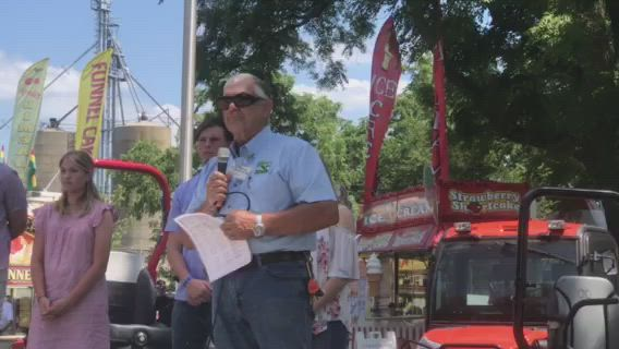 Longtime Kendall County Fair Board President Mike Drendel opened his last fair Thursday afternoon. Have you visited the fair yet?