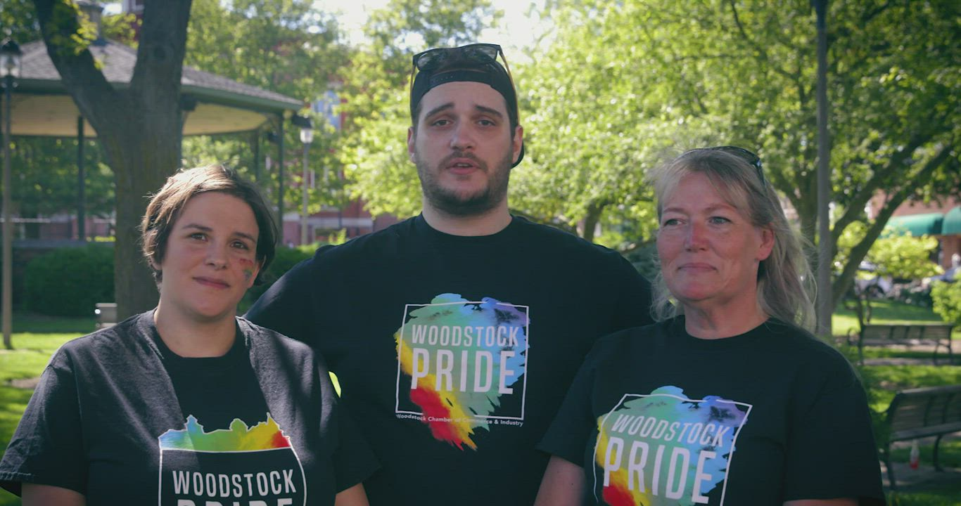 Check out the scenes from Woodstock Pride 2020, created by Eric Niequist of New Branch Films
