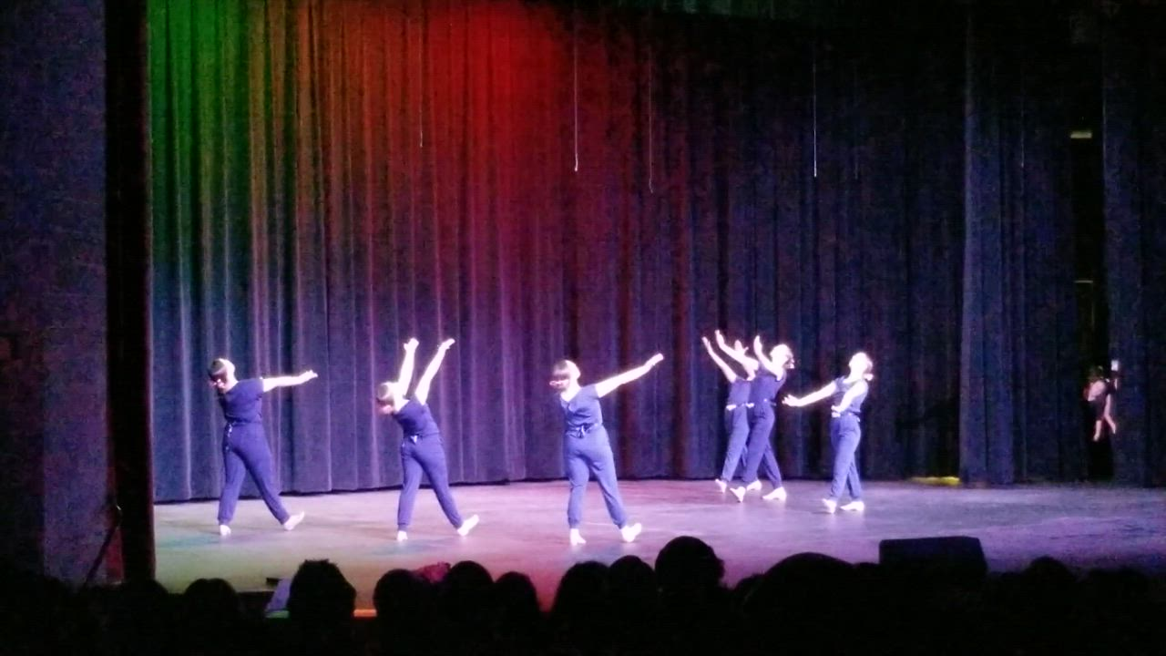 "Leap of Faith Ministries in Plainfield held its Christmas recital on Dec. 15 at Minooka Community High School.  Here, the Brilliance Jazz class performs ""Something in the Water."""