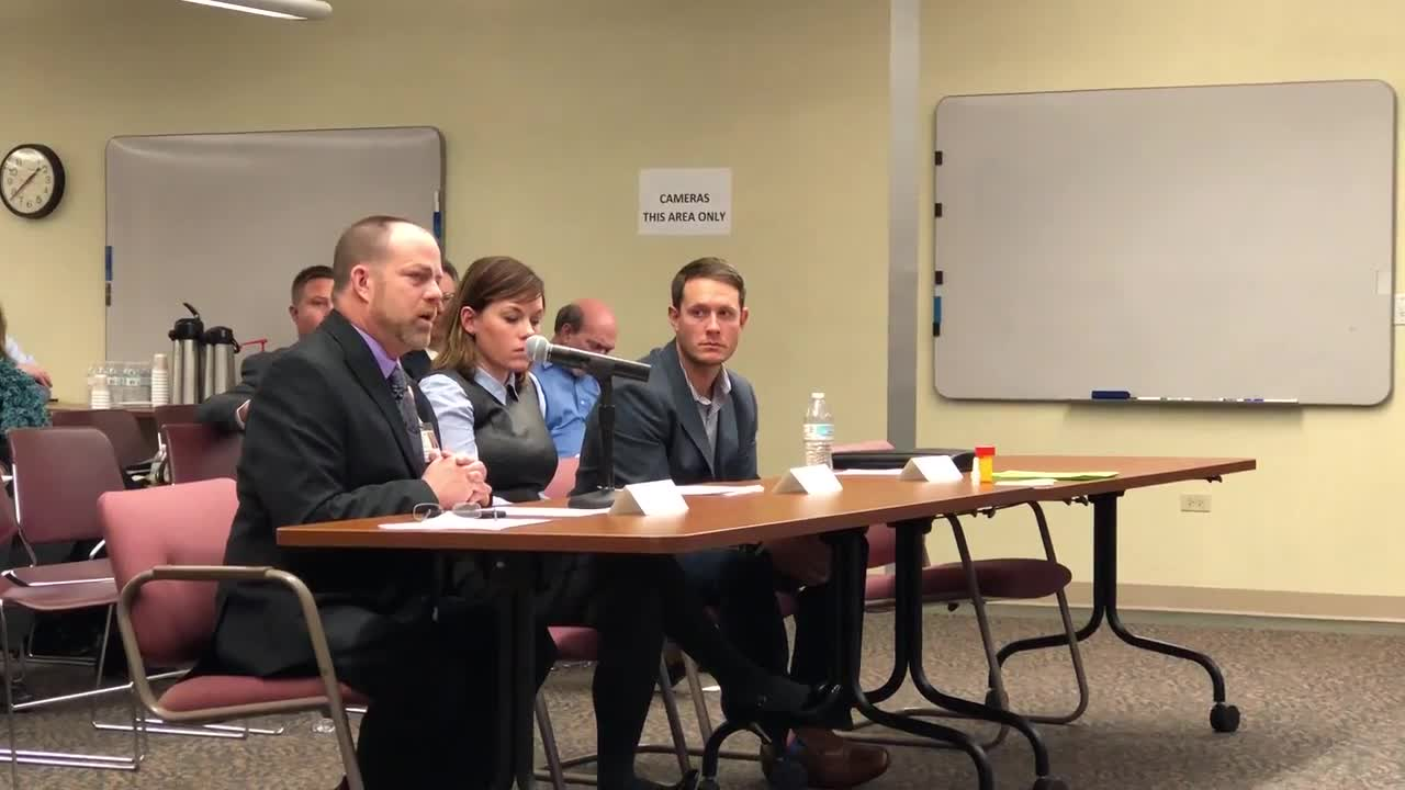 Several stakeholders shared their perspective on the opioid epidemic Thursday to Gov. Bruce Rauner's Opioid Task Force.