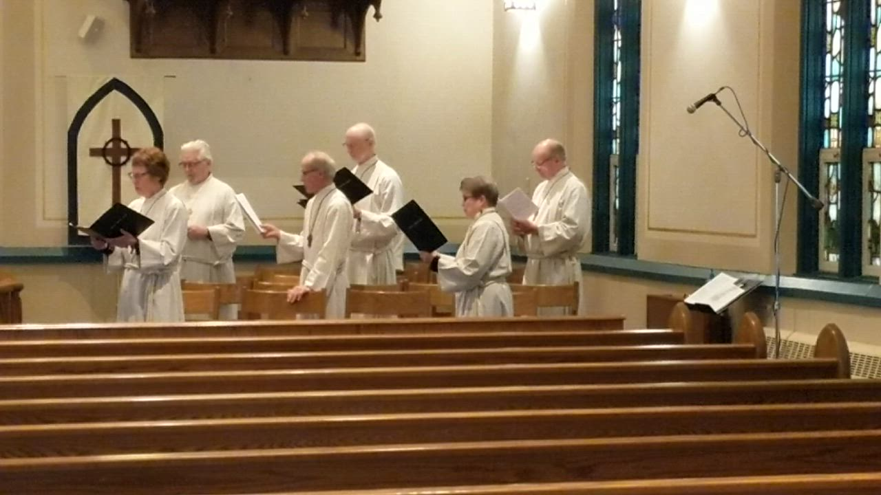 On March 22, Bethany Lutheran Church in Batavia live streamed its first worship service while the state is under a stay-at-home order because of the COVID-19 (coronavirus) outbreak.
