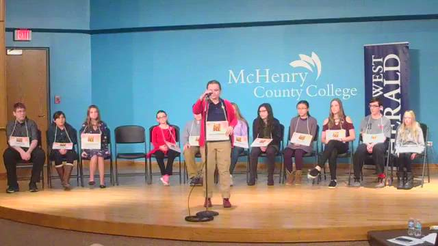 Full coverage of the 2018 McHenry County Spelling Bee