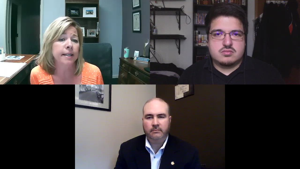 Joliet Region Chamber of Commerce President Jen Howard and Vice President Mike Paone discuss how their member businesses are trying to cope with the economic impact of the COVID-19 pandemic.