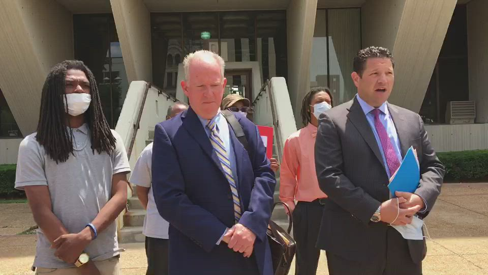 Attorneys Lawrence O'Reilly and Michael Baker announce no charges were filed against Victor Williams and Jamal Smith. The case is still under investigation.