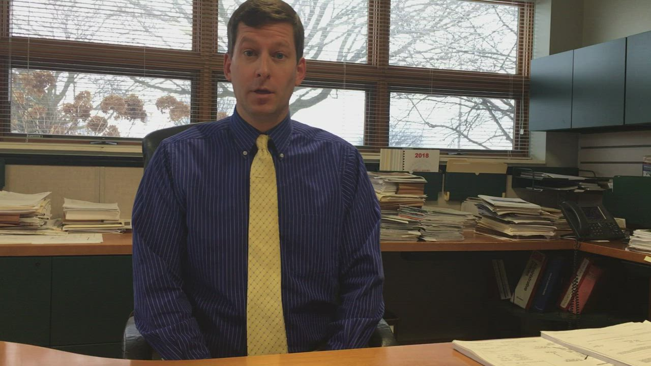 DeKalb County Highway Engineer Nathan Schwartz outlines what drivers can expect regarding county road plowing and salting ahead of the storm Friday afternoon into Saturday morning.