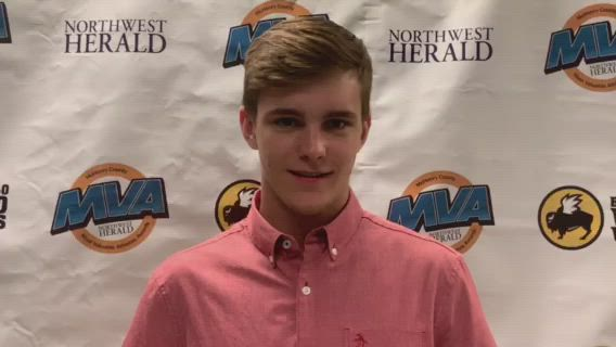 Marian Central's Dylan Connell was named Northwest Herald Underclassmen of the Year.