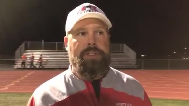 Zimolzak talks about the Red Raiders' 35-20 loss to Cary-Grove.