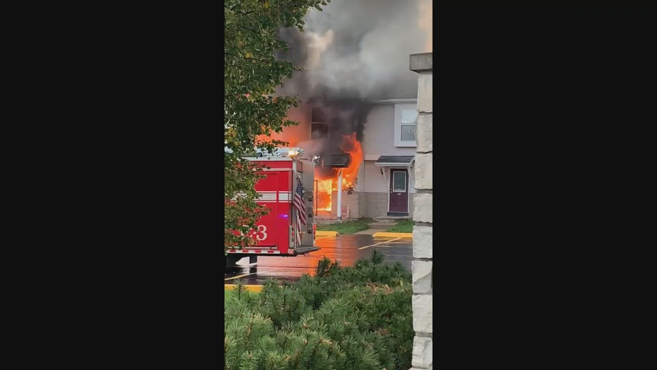 Daily Chronicle reader Sarah Bresnahan submitted this video of the apartment fire at 1121 W. Hillcrest in DeKalb Thursday night. Crews cleared the scene as of 8 p.m. Thursday, though eight people have been displaced.