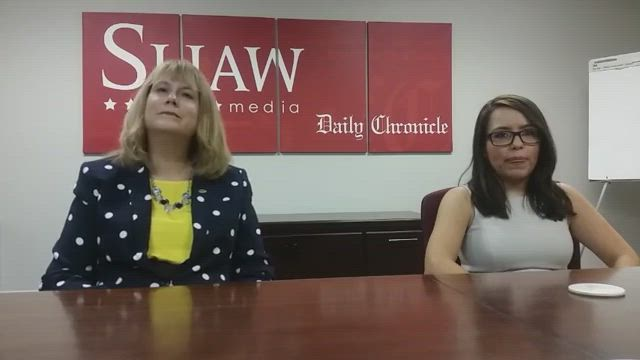 DeKalb County treasurer candidates Christine Johnson and Liliana Orozco speak with the Daily Chronicle Editorial Board about the upcoming election.