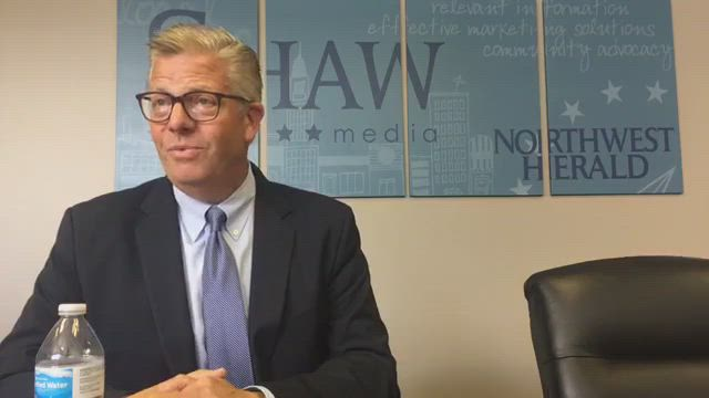 U.S. 14th District Rep. Randy Hultgren speaks with Shaw Media about the upcoming 2018 election.