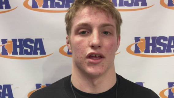 Allen won his third-place match at 160 pounds in Class 2A.
