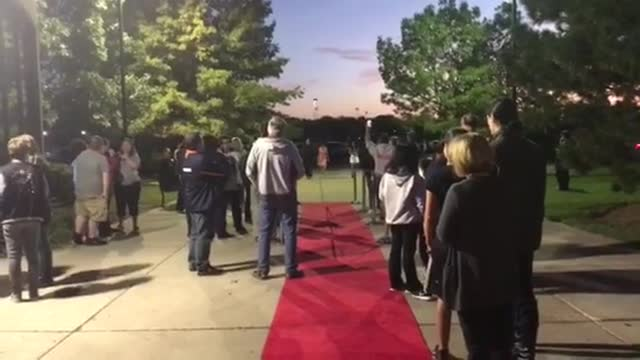Red carpet treatment at the premiere of N2!