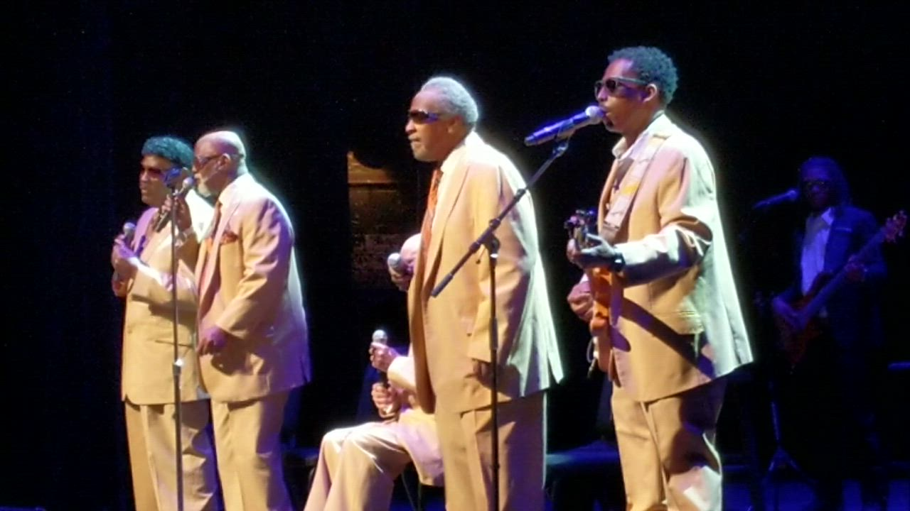 "The Blind Boys of Alabama performs ""Do Lord"" on Jan. 18, 2019, at Paramount Theatre in Aurora."