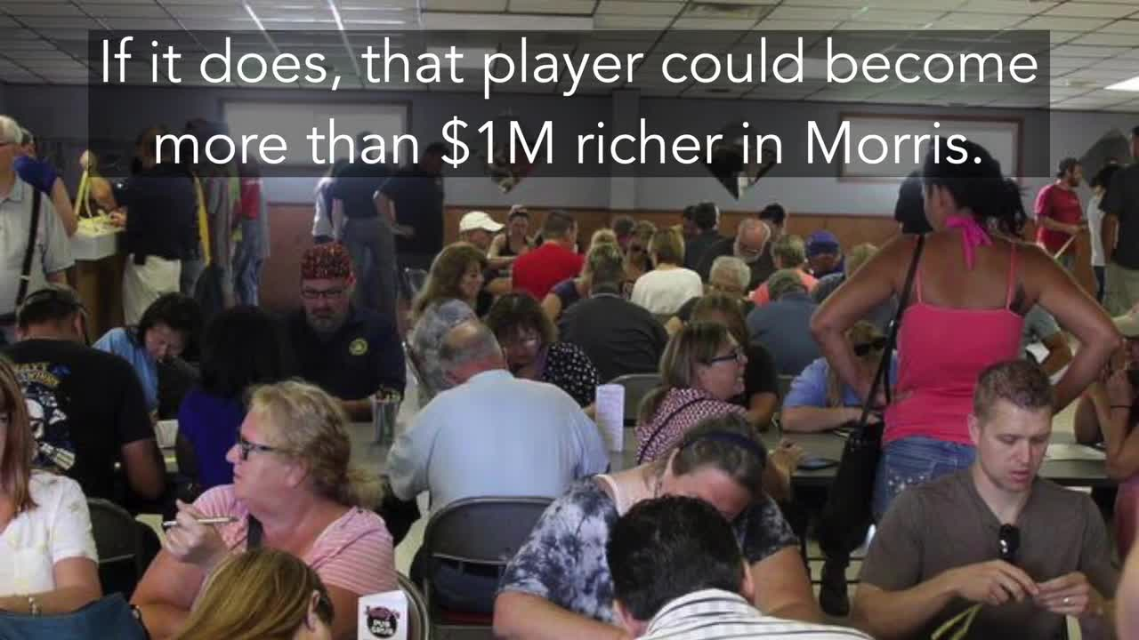 Morris VFW Queen of Hearts jackpot tops $1M
