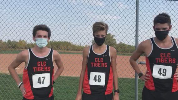 CL Central's top three runners talk about their team title at the FVC Cross Country Meet. Landt is FVC champ, Hollander was runner-up and Hamill took seventh.
