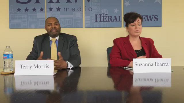 We're hosting a live debate with Joliet City Council District 5 candidates Suzanna Ibarra and Terry Morris. The district, which streches from Interstate 55 to Gougar Road, includes Joliet Junior College and Center Point.