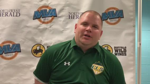 Crystal Lake South Coach Brian Allen talks about winning Northwest Herald Coach of the Year.