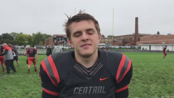 Ellinger passed for 365 yards and three touchdowns in the Tigers' 42-41 FVC victory.