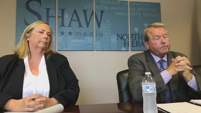 Donald DeWitte and Nancy Zettler talk about the issues facing State Senate District 33