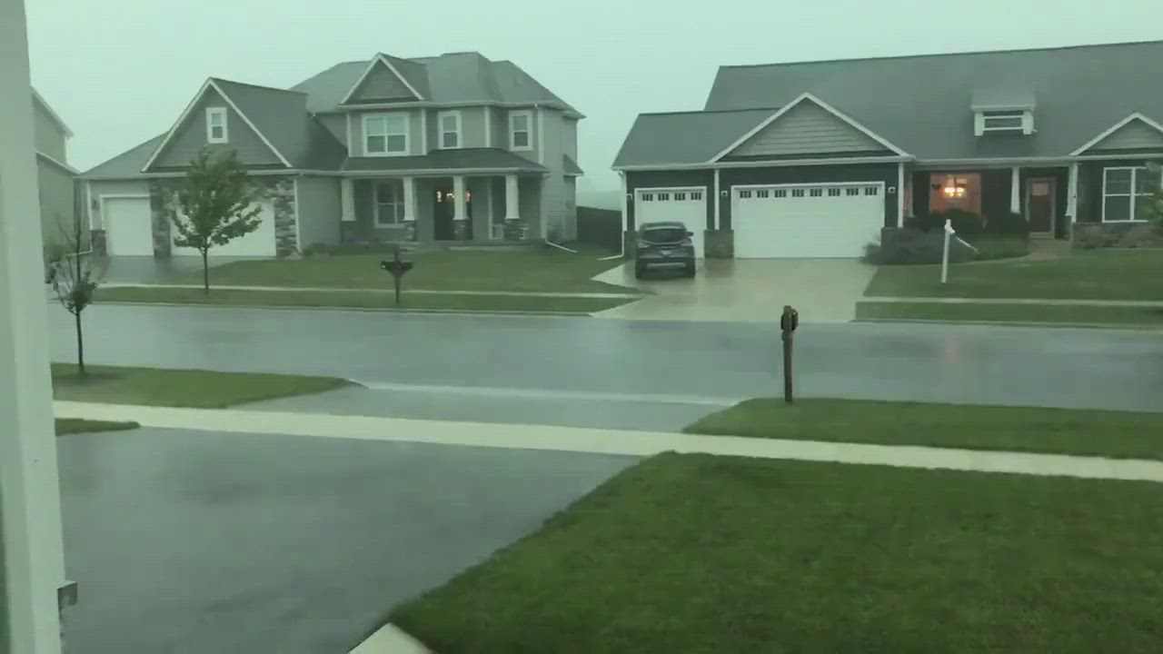 Check out this short scene of the derecho hitting DeKalb County on Monday.