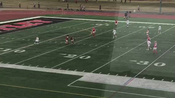 Kaufman's goal with 2:03 to go in the game have her team the lead.