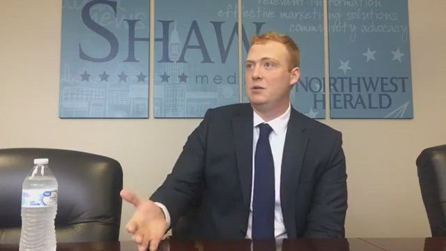 Attorney General candidate Bubba Harsy speaks about the issues in the 2018 election