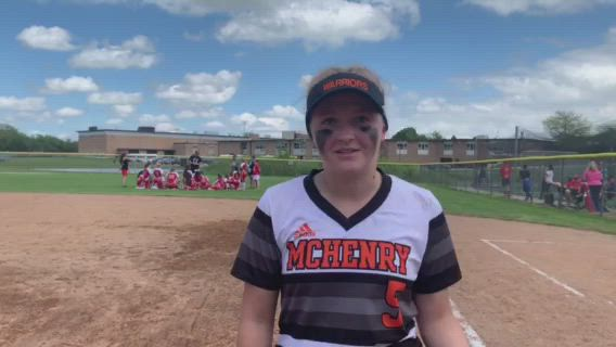 Currie hit a homer and scored twice in the Warriors' 4-1 win against Grant at the Class 4A Cary-Grove Regional final.