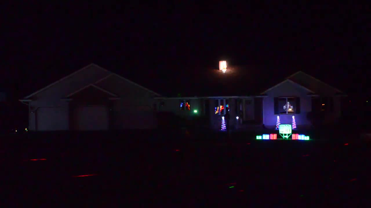 Dave Doss loves going all out for Christmas, putting on quite the merry and musical light show at his Sterling home.
